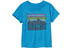 Patagonia Baby Fitz Roy Skies Cotton T-Shirt Electron Blue